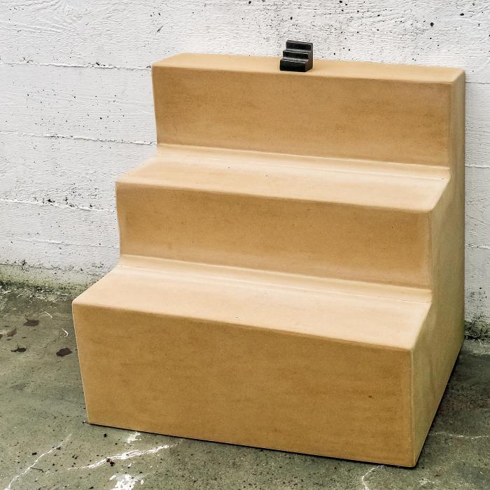 Fried Rosenstock: Escalier descendant un escalier