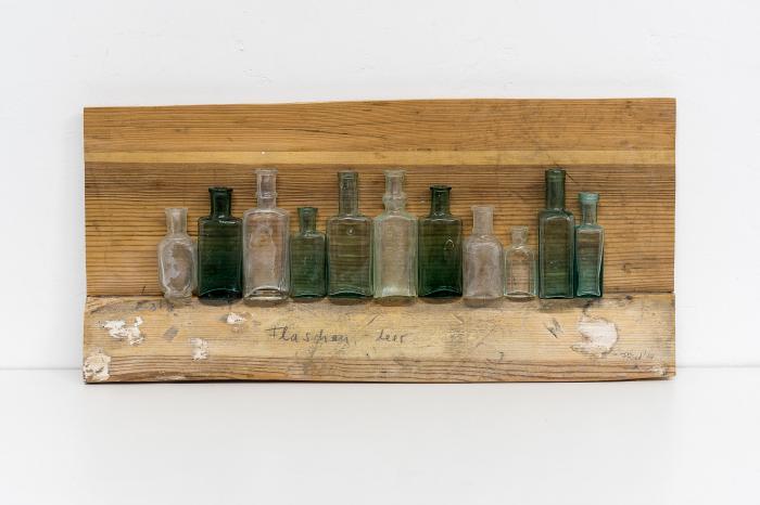 Fried Rosenstock: Flaschen, leer